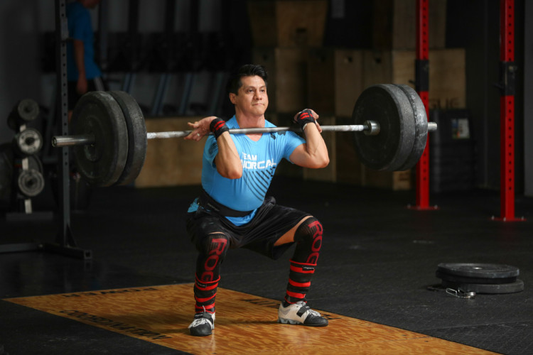 CrossFit Insanity_Irvine_CA_Cleans