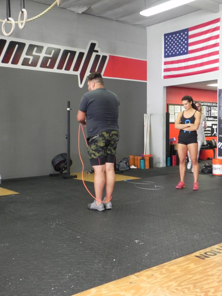 CrossFit Insanity_Irvine, CA_Double Unders