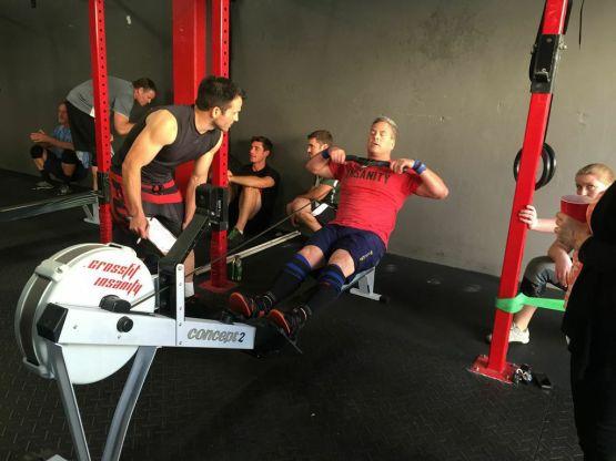 CrossFit Insanity_Irvine_CA_Rowing